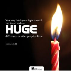 Neither do men light a candle, and put it under a bushel, but on a candlestick; and it giveth light unto all that are in the house. -Matthew 5:15...http://ibibleverses.christianpost.com/?p=75711  #Matthew #candlestick #light