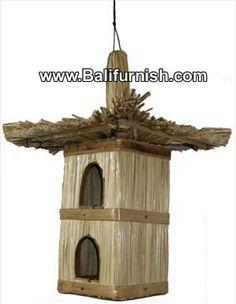 Bamboo Bird House Bali Indonesia