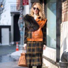Scottish Rights #scottishrites @sofia_symeonidou #fur #sash #tartan #wearingtheplaid #kilt #leather #fringe #handbag #streetstyle #scotland #crossyourheart #scottishlass #strawberryblonde #style #design #mode #keepitchic #globalstyle #furstyle #manoswartz #est1889