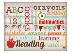 Cupcake Wishes & Birthday Dreams: {Freebies} Free Back to School Printables