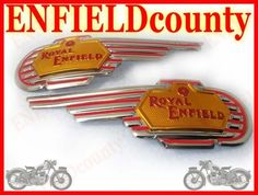 If you are looking for any other enfield parts, do let us know. Royal Enfield Bullet, Badges, Chevrolet Logo, Decals, Pairs, Ebay, Accessories, Movies, Tags