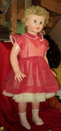 1960's  Life Size Walking Doll.....She was very tall to me at the time.  She was tough to take for a walk but so special.