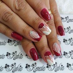 Color Nails, Nail Colors, Magic Nails, Nail Designer, Manicure E Pedicure, Easy Nail Art, Nail Design, Nail Art, Nail Bling