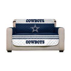NFL Reversible Furniture Protector - DALLAS COWBOYS - Love Seat #NFL