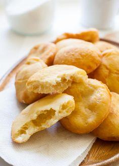 Arepas de Coco (Coconut Fry Bread)   TheNoshery.com