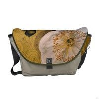 White Poppies Commuter Bags #giftsforher