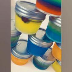 Mason Jar Meals, Mason Jar Gifts, Mason Jars, Alcoholic Shots, Malibu Rum, Coconut Rum, Jello Shots, Vodka, Drinks