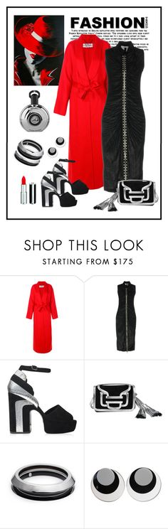 """""""Givenchy Knee-length Dress & Coat Look"""" by romaboots-1 ❤ liked on Polyvore featuring Givenchy, Pierre Hardy, Alexis Bittar and Judith Hendler"""