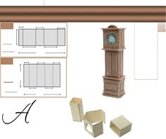 Grandfather clock from board tutorial - AIM January Supplement 2013 Issue 45