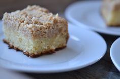"""Sour Cream Crumb Coffee Cake (Gluten, soy, nut free. To make egg free, replace eggs with flax """"eggs"""": 1 Tablespoon flaxseed meal mixed with 3 Tablespoons warm water for each egg.)"""