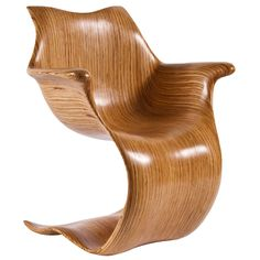 Contour Arm Chair by Robert Reeves