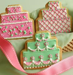 KUIDAORE - birthday cake iced cookies
