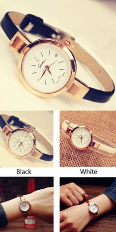 Elegant Ladies Thin Strap Diamond Rose Gold Alloy Quartz Wrist Watch for big sale! Elegant Ladies Thin Strap Diamond Rose Gold Alloy Quartz Wrist Watch for big sale! Simple Watches, Cute Watches, Retro Watches, Elegant Watches, Beautiful Watches, Vintage Watches, Watches For Men, Women's Watches, Wrist Watches