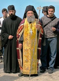 Arkhimandrit Grégoire (Zumis) higoumène du Monastère de Docheiariou