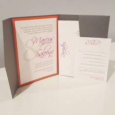 cool vancouver wedding Loving the pop of colour with this invitation! #weddingstationery #weddinginvitation #popofcolour #pocketinvitations #wedding #brides #handmadestationery #krushdesignstudio by @krushdesignstudio  #vancouverwedding #vancouverwedding