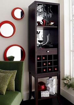 i seriously want a mini bar i just think they look so nice for entertaining