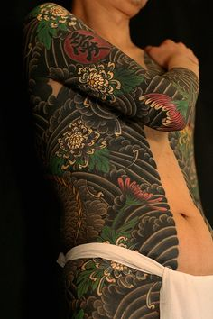 Tattooing for spiritual and decorative purposes in Japan is thought to extend back to at least the Jōmon or paleolithic period (approximately 10,000 BC). #irezumi