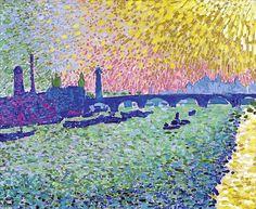 André Derain - Il ponte di Waterloo, 1906, olio su tela.