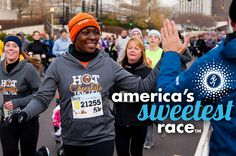 Hot Chocolate Run is coming to SD!!   The combination of running and chocolate couldn't be any more perfect. :)