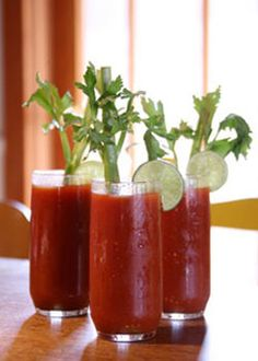 Basil Balsamic Bloody Mary's -   This is the last Bloody Mary recipe you will ever need! It starts with a high-quality mix and the usual suspects - vodka, lime juice, celery salt and Worcestershire.