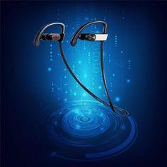 Strereo Bluetooth Earphone Headphone Wireless Sport running Headset with Microphone