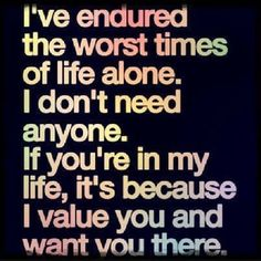 Ive endured the worst times life quotes quotes quote life quote strength meaningful quotes