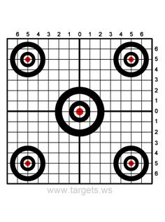 printable targets for shooting practice midway pistol