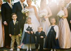 Navy Flower Girl Dresses | photography by http://www.oliviagriffin.com/