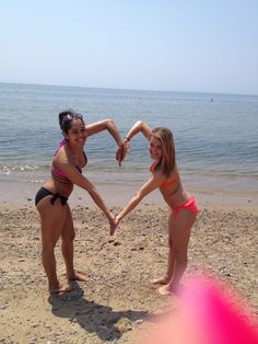 Favorite Beach Picture with My Best Friend