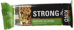 Strong  Kind Almond Protein Bar Roasted Jalapeno Pack of 12 * Check out the image by visiting the link.
