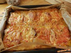 ZAPEČENÉ KOTLETY lečo sýr slanina šlehačka ...fotopostup