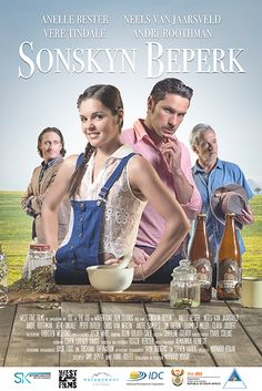 """Sonskyn Beperk"" by West Five Films 2016. Poster design by www.bakkesimages.co.za with Annelle Bester and Neels van Jaarsveld."