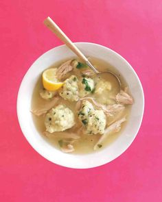 Down-Home Chicken Soup with Dumplings Recipe