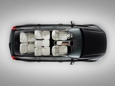 2017 Volvo XC90 interior, leather seats