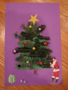 10 Christmas Crafts for kids.