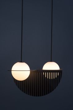 Montréal-based Lambert & Fils plans to release their latest lighting fixture, Laurent, at this year's ICFF after the success of last year's Beaubien launch. The newest design merges opalescent glass spheres with graphic metal components resulting in unique, sculptural fixtures.