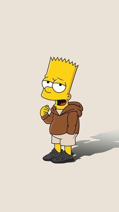 Bart Simpson New Horizons Simpson Wallpaper Iphone, Sad Wallpaper, Emoji Wallpaper, Wallpaper Iphone Cute, Aesthetic Iphone Wallpaper, Disney Wallpaper, Phone Wallpapers, Simpsons Drawings, Simpsons Art