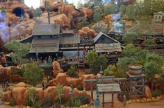 Big Thunder Mountain Railroad Model