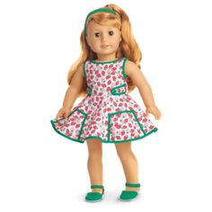 Maryellen's Strawberry Outfit for 18-inch Dolls | BeForever | American Girl