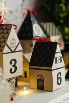 3D Paper Advent Calendar                                                                                                                                                                                 More