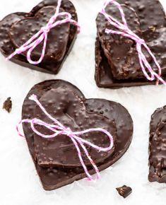 Homemade Chocolate Bark, Chocolate Treats, Chocolate Flavors, Chocolate Making, Best Quinoa Recipes, Easy Delicious Recipes, Tasty, Vegan Recipes, Puffed Quinoa