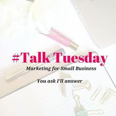 #talktuesday what's on your mind?  What is it you are stuck on? Conversions,  lead pages, social media? ? Ask away I'll be answering questions live tomorrow on periscope.  Submit your questions here and I will answer them tomorrow.  #marketing #entrepreun