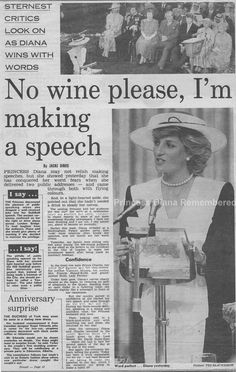 Memories Of Diana - Receiving The Honorary Freedom of The City of London Award - July 22nd 1987