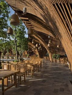 Bamboo structure #sustainablearchitecture