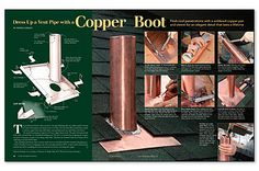 Dress Up a Vent Pipe With a Copper Boot