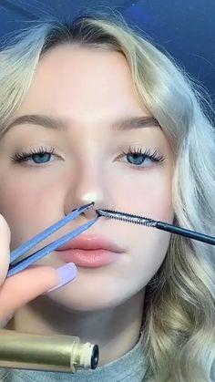 Makeup Eye Looks, Cute Makeup, Skin Makeup, Emo Makeup, Makeup Eyebrows, Maquillage On Fleek, Makeup Hacks Videos, Makeup Tutorials, Hair Hacks
