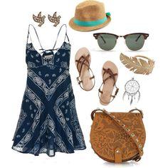 bandana dress :: zazumi.com