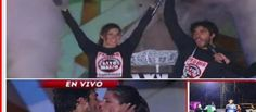 #AmorAPrueba' #Pedro Astorga y #Romina Ansaldo son los #ganadores La pareja se consagró como la mejor en la '#GranFinal' del reality.#showbiztv_es #realityshow
