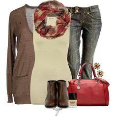 #autumnoutfits #scarves #easy