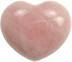 """1 3/4"""" Rose Quartz heart Carved from natural Rose Quartz and highly polished the beautiful heart can serve as decoration or as the focus of your love, lust and fidelity spell, ritual or mediation work. Rose Quartz. 1 3/4""""  https://shadowsofthemoon.net   #shadowsofthemoon #Book #shadowsofthemoondotnet #witchcraft #altar #Wiccan #ilovemywitchyways #Wicca #witchy #Pagan"""